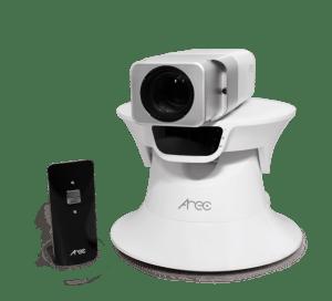 Sistema de Seguimiento Automático AREC TP-100 con la Cámara IP CI-200